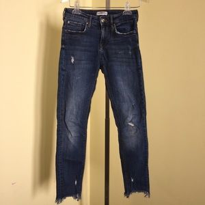 Zara Woman Premium Denim Jeans .